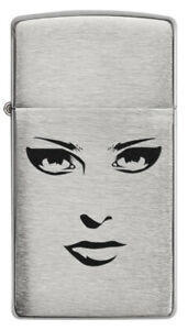 ZIPPO-Slim-Woman-Face-Feuerzeug-Neuheit-2020-60004795