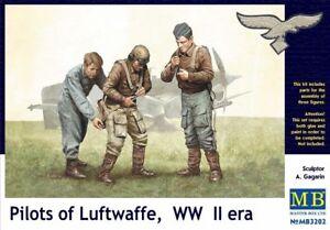 MAS3202-Masterbox-1-3-2-Echelle-Pilotes-de-Luftwaffe-2nd-Guerre-Mondiale-Ere