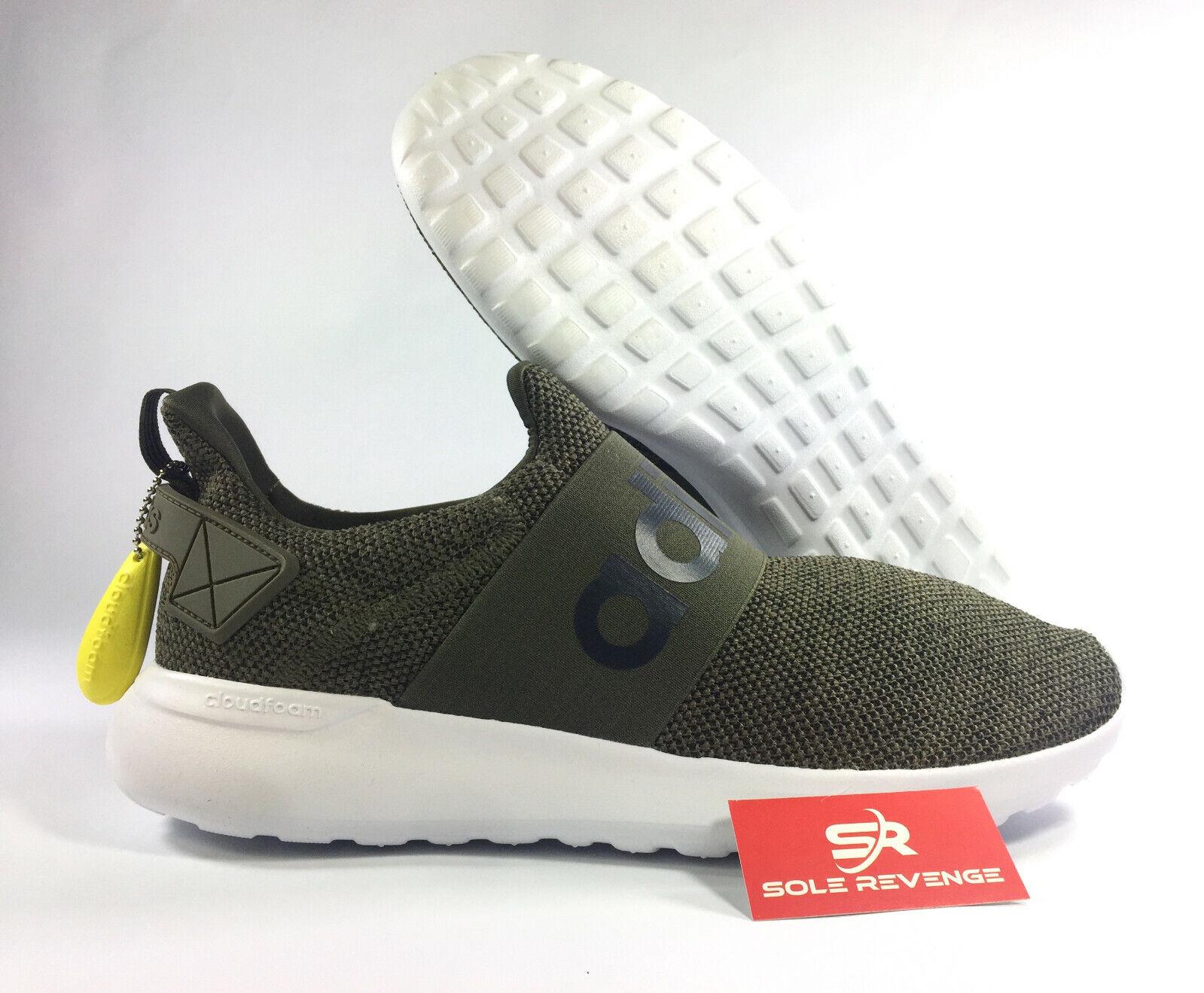 9ae1f6528094f New adidas LITE RACER CF SLIP-ON ADAPT - Cloudfoam Green White shoes  BB1644. Merrell Men s ...