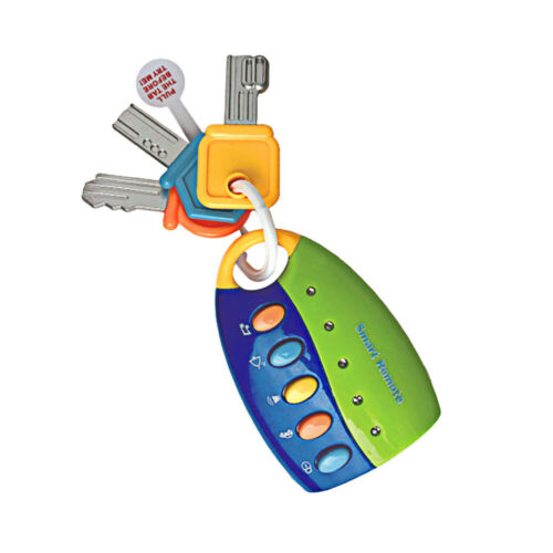 Toy Keys For Toddlers And Baby Toys-Toy Car Keys With Keychains Light And Sound