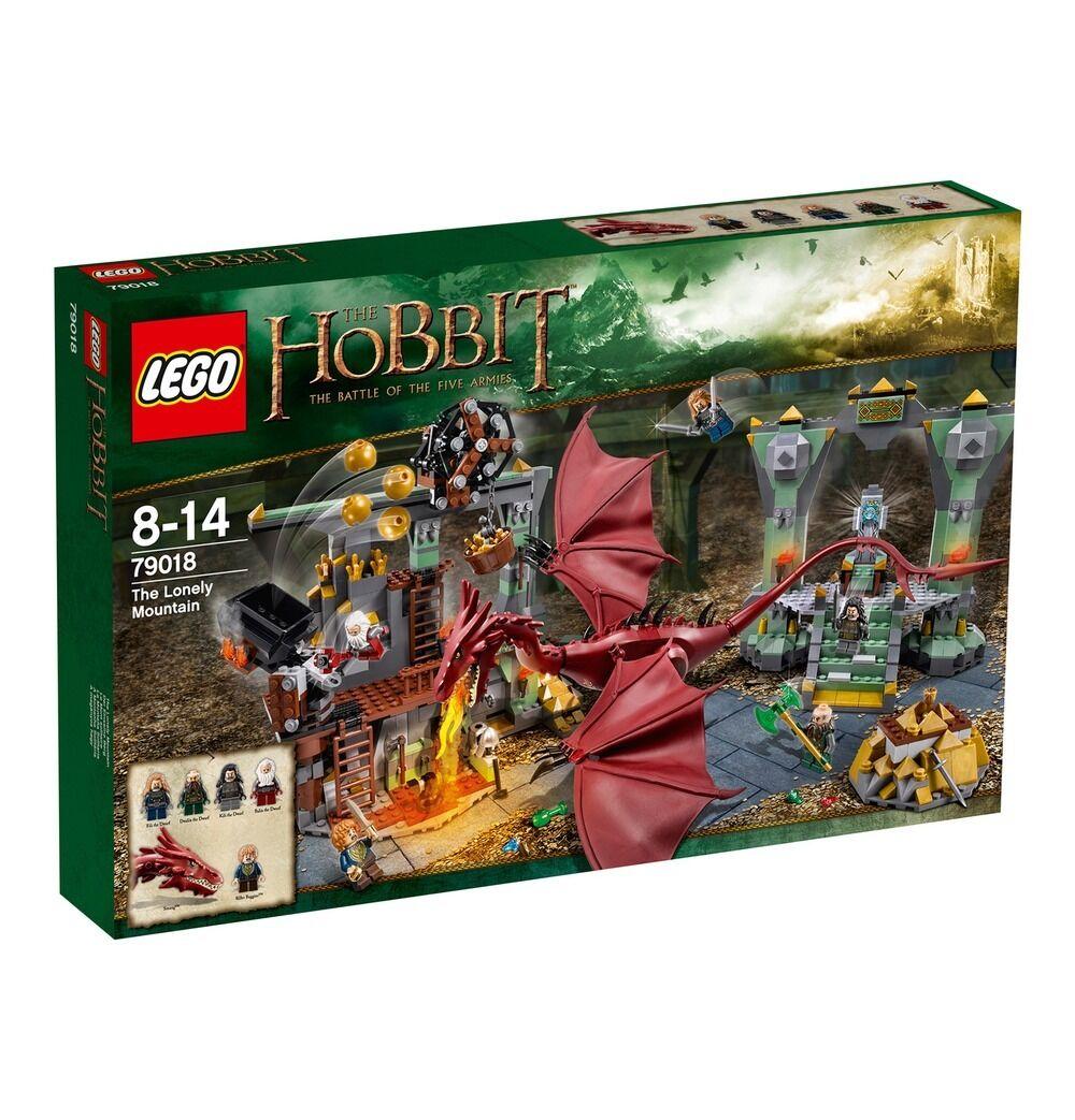 LEGO 79018 la solitaire montagne smaug Dragon the solitaire Mountain Dragon the Hobbit