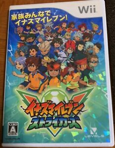 Inazuma Eleven Strikers Nintendo Wii Japan Ebay