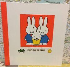 A Vintage Rare 1988 Dick Bruna Book Miffy Photo Book Family Photo Album So Cute!