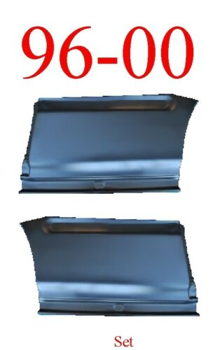 96 00 Honda Civic Front Lower Quarter Panel Set 2 Door