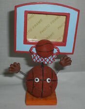 """Kids Cute Small Sports Picture Frame Basketball Frame Decor 5"""" Tall Gift New"""