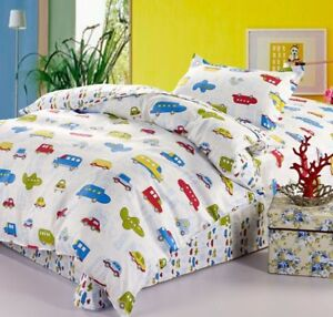 Kids Boys Bedding Twin Duvet Cover