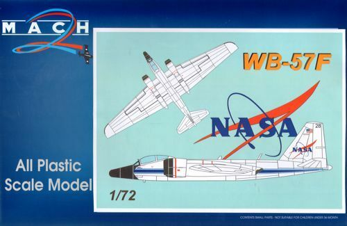Mach 2 1 72 Martin WB-57F NASA