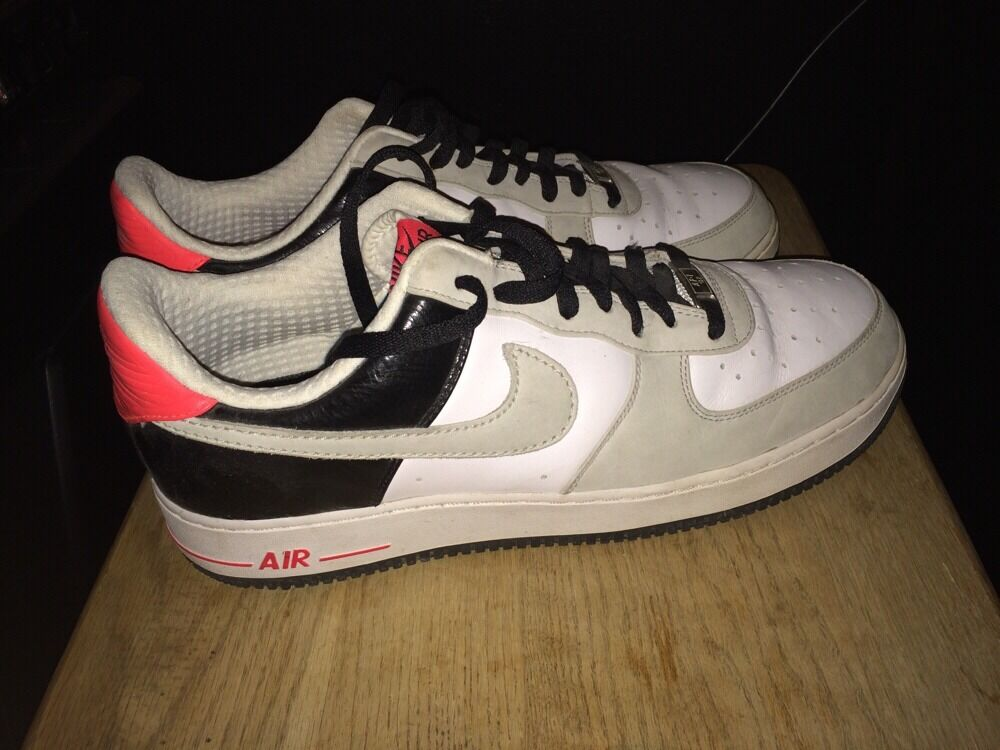 Nike Air Force 1 Low Premium  Infrared  Size 13 Multi-color Sneakers