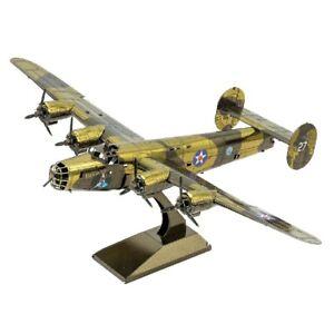 Metal-Earth-1179-B-24-Liberator-Bomber-3D-Metal-Kit-Original