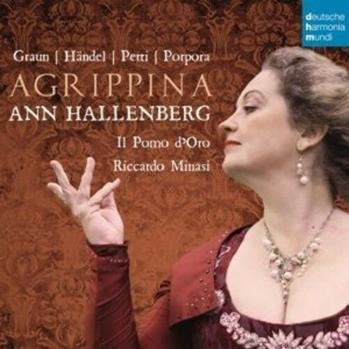 Ann Hallenberg - Agrippina: Opera Arias By Graun / Handel [New CD] Germany - Imp