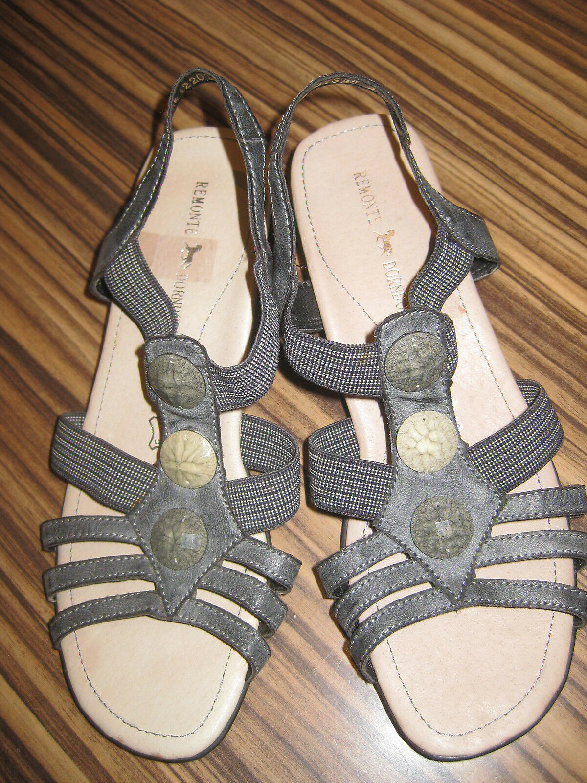 Remonte  Leder Sandaletten  Gr.38 blue Neu