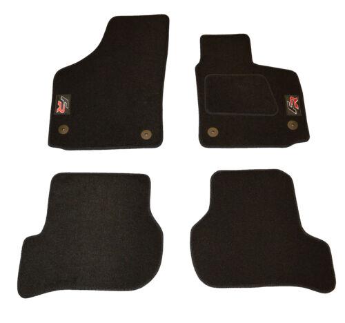 SEAT Leon 2nd GEN adaptado equipado Coche Tapetes FR logotipos bordados 09-12