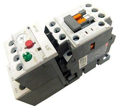 Motor Starter 1//2-3//4 HP @ 480V 1-1.6 Amp Overload 120 Volt Coil New