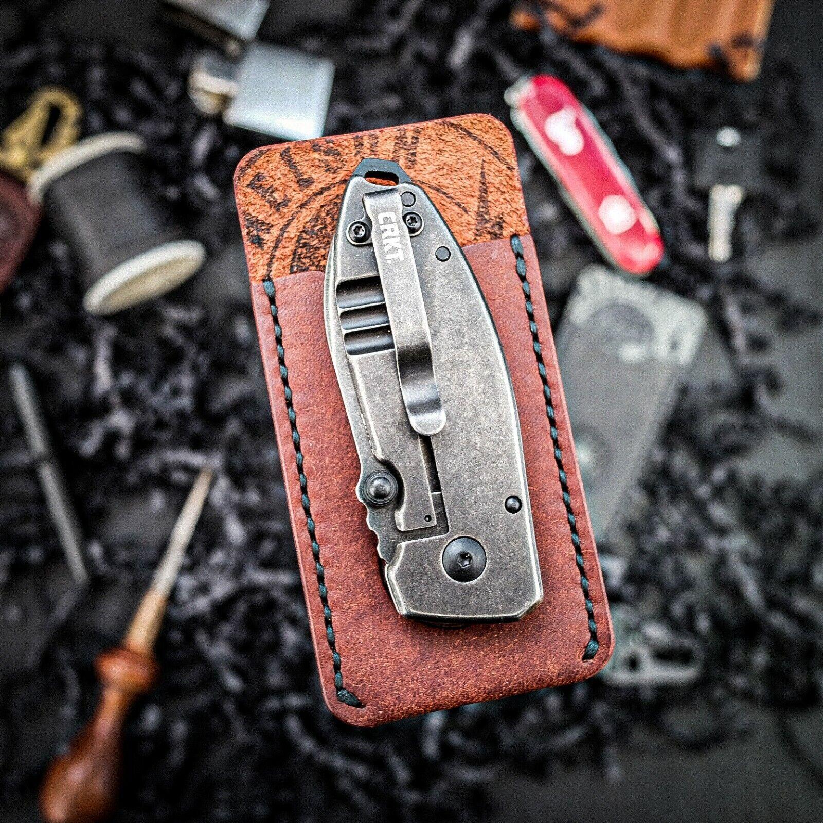 Leather EDC Multi Tool Organiser Multi-Tool Cover, Every Day Carry Organiser