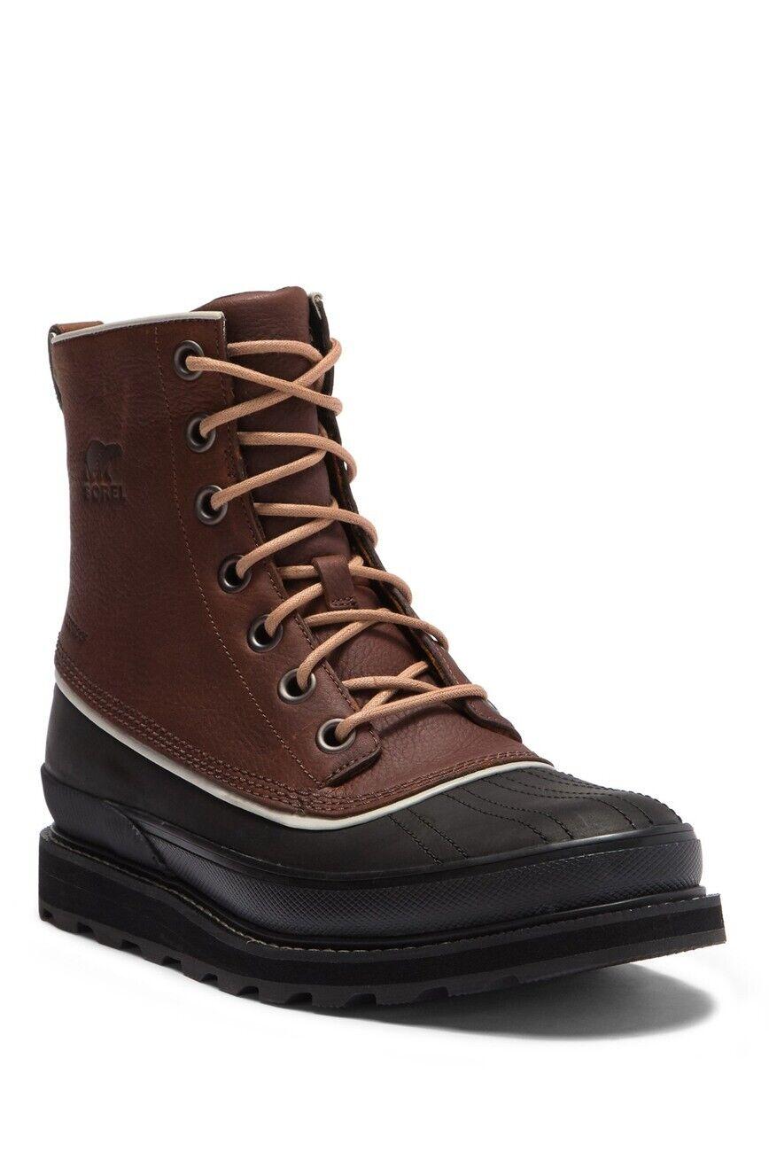 negozio online Sorel Uomo Madson 1964 Waterproof Leather Leather Leather avvio  Sito ufficiale
