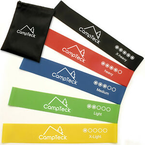 Pack-of-5-Resistance-Loop-Exercise-Bands-Workout-Fitness-Yoga-Strength-Training
