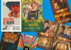 Details About Doctor Who Novel Book Bundle Incl The Good Doctor Sale For Bedford Foodbank