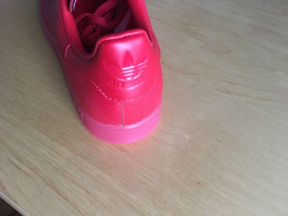 Adidas ORIGINALS STAN STAN STAN SMITH ADICOLOR SZ 10 SCARLET RED S80248 72d13c