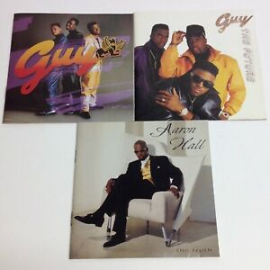 Guy/Aaron Hall: Guy -1988/The Future -1990/The Truth -1993/ 3 CDs- 41 Tracks