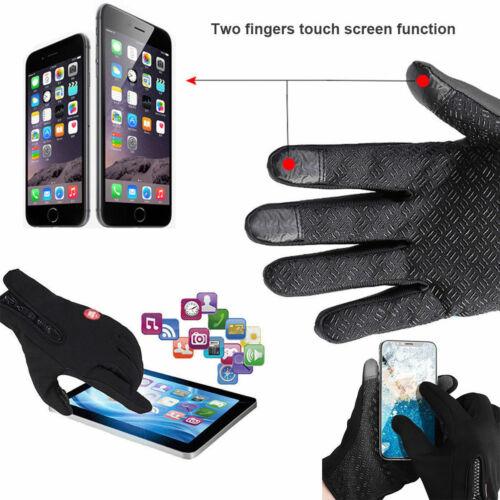 Men Women Winter Waterproof Insulated Gloves Warm Thermal Outdoor Sport Mittens