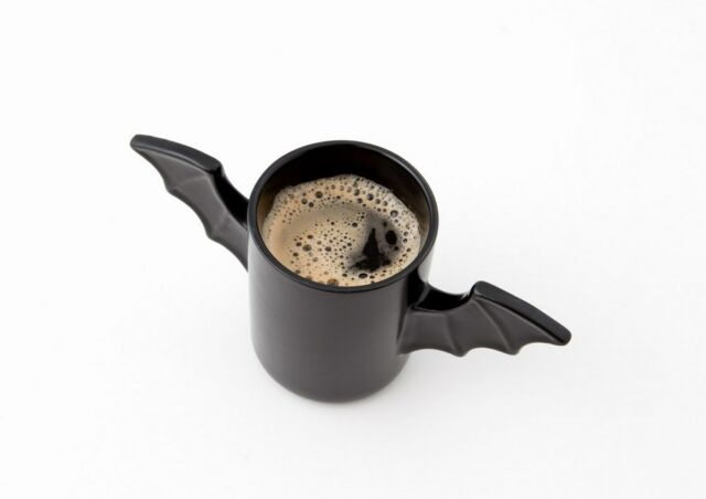 Batman Returns ! The Bat Mug Black Wind Ceramic Coffee Mug Wings Cup 10.65OZ