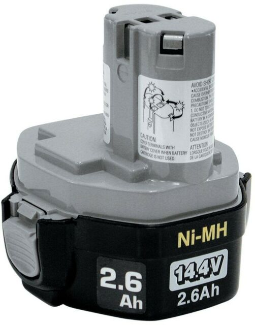 Makita 193158-3 Rechargeable Nickel-Metal Hydride Battery 1434, 14.4V FREE SHIP