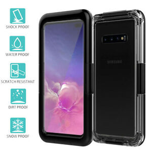 F Samsung Galaxy S10 S10 Waterproof Shockproof Dirt Proof Case Full Clear Cover Ebay