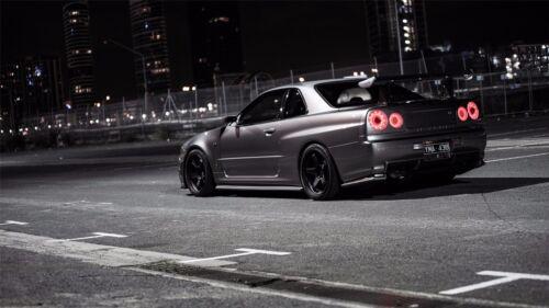 "Nissan GT-R Supercar GTR Sports Car Art Wall Poster 24/""x13/"" 012"