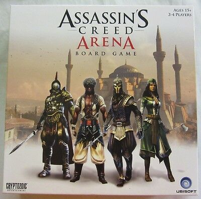 Assassin's Creed Arena Board Game UBISOFT Cryptozoic Ezio FREE SHIPPING