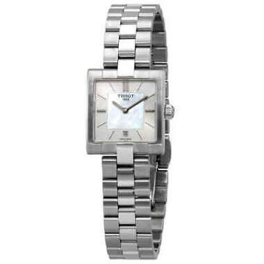 TISSOT T-Lady Mother of Pearl Dial Ladies Watch
