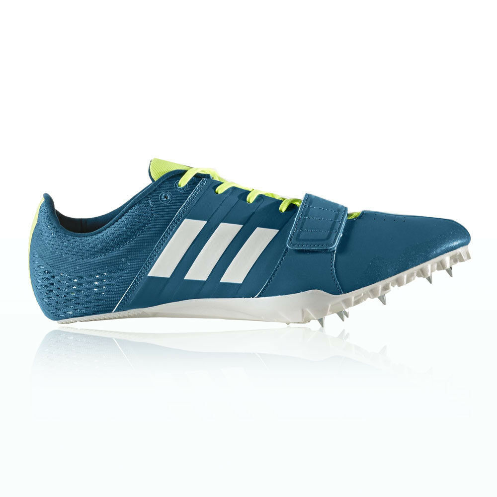 Adidas Adizero Accelerator Mens bluee Athletic Track Running shoes Spikes