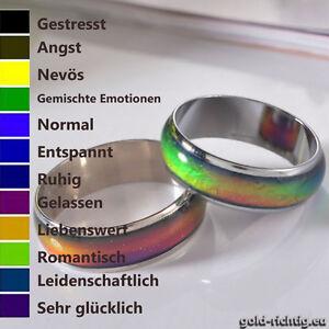 Methodisch Stimmungsring Farbwechsel Ring Multicolor Kinder Damen Schmuck Moodring Geschenk Um Sowohl Die QualitäT Der ZäHigkeit Als Auch Der HäRte Zu Haben