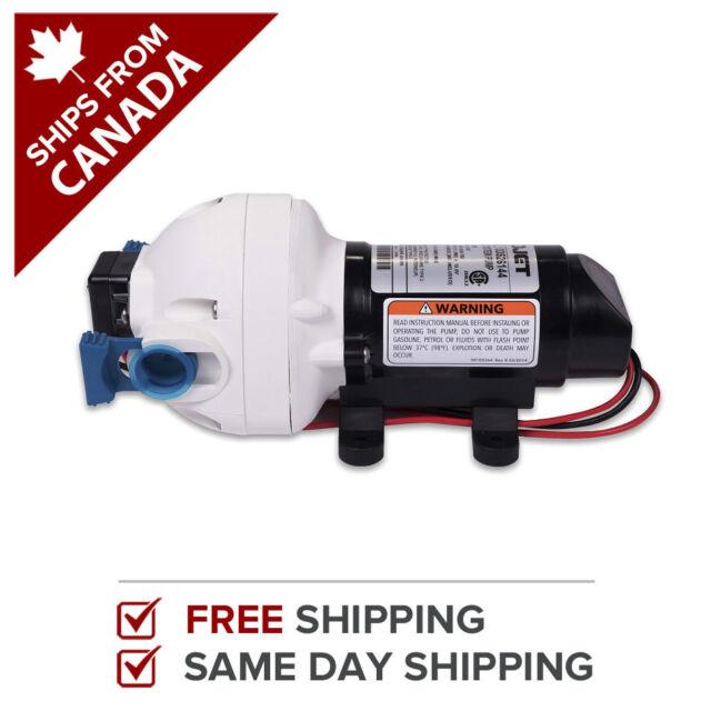 Flojet 12 Volt RV Marine Water Pump 2.9 GPM Triplex 03526-144A