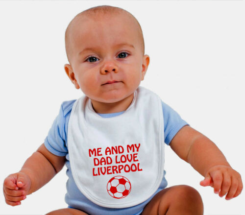 Liverpool Me /& My dad love Toddler baby t shirt baby grow bib