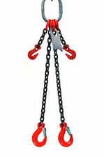 516 Grade 80 Dosa Double Leg Chain Sling Hooks Adjusters Choose Your Length