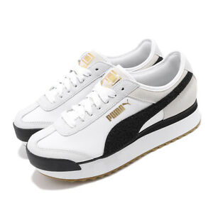 eef27aa7ced Details about Puma Roma Amor Heritage Wns White Black Gum Women Casual  Platform Shoe 370947-01