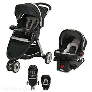 ef26abefe Image is loading Graco-Fastaction-Fold-Sport-Click-Connect-Travel-System-