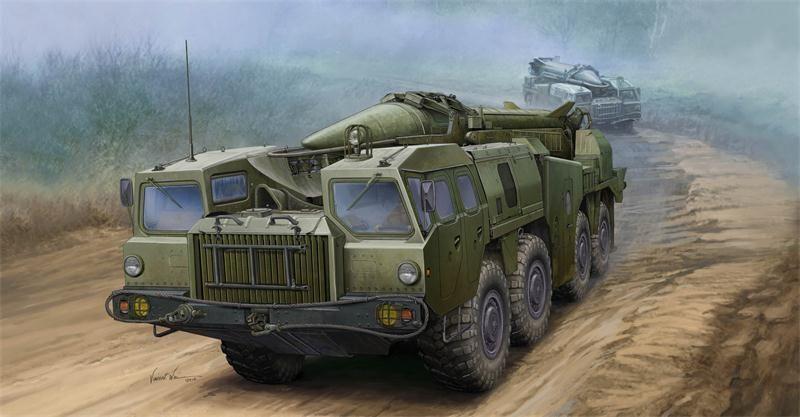 Trumpeter 01019 1 35 Soviet (9P117M1) Launcher w 9K72 Missile  Elbrus (Scud-B)