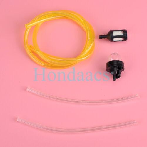 Primer bulb Fuel filter HOSE for Homelite Ryobi McCulloch Stihl Poulan Husqvarna