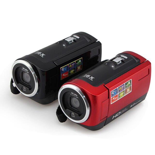 HD 720P 16MP Digital Camera Video Camcorder  Record DV  2.7'' TFT LCD 16x ZOOM