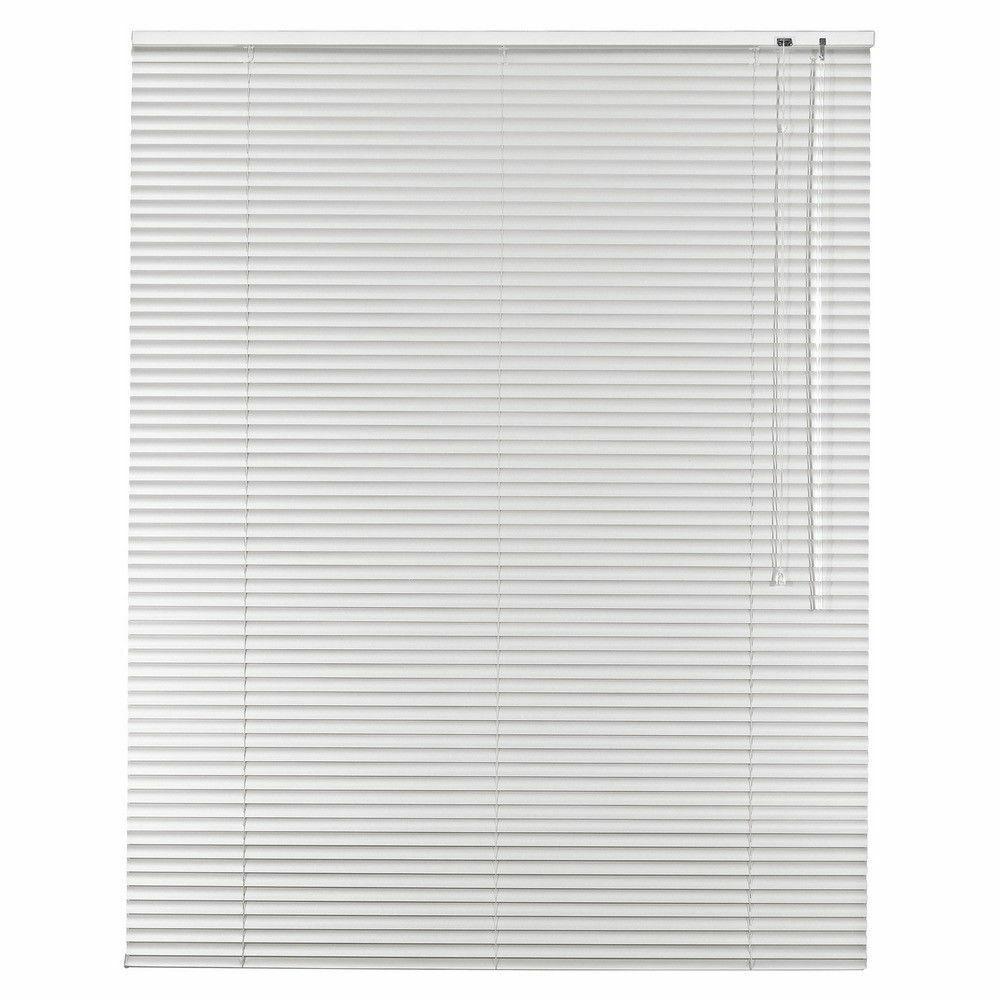 Aluminio persiana veneciana de aluminio ventana jalusie schalusie-altura 130 cm blancoo