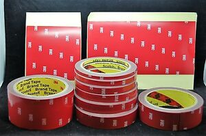 3M-4229P-5MM-TO-50MM-DOUBLE-SIDED-FOAM-TAPE-AUTOMOTIVE-TAPE-MULTIPLE-LISTING