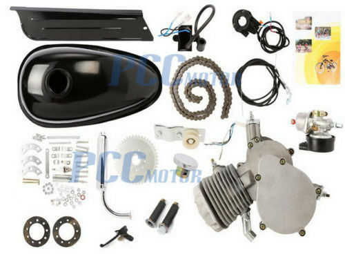 NEW 80CC 2-Stroke Gas Engine Motor Kit For Bicycle Bike H EN05+