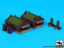 Blackdog Models 1/350 DOCKSIDE WAREHOUSES Set #1 Resin Set
