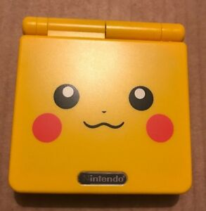 Nintendo-Game-Boy-Advance-GBA-SP-Pokemon-Pikachu-AGS-001-GAMEBOY-Console