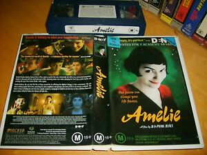 AMELIE-2001-Australian-Magna-Pacific-Vhs-Issue-Classic-Adult-Comedy-Romance