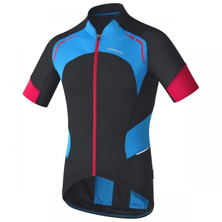 Shimano, Mens,  hot condition cycling jersey, Large, Short sleeve  reasonable price