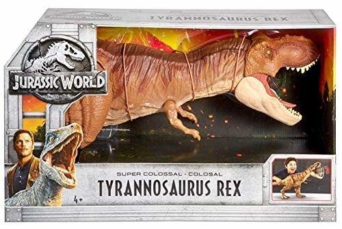 Riesige t - rex großen mega - gigantische tyrannosaurus großes spielzeug tyranasaurus dinosaurier selten