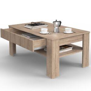 Tavolino da Salotto con cassetto Soggiorno tavolo per Caffè tè ...