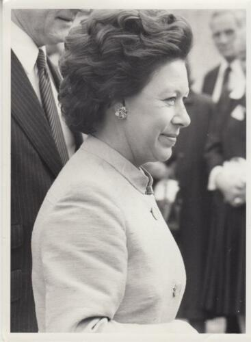 Chelsea Flower Show Visitor. Princess Margaret 51882 Press Photo
